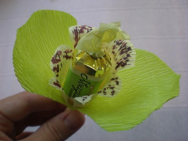 букеты из конфет орхидеи фото либо всё сам