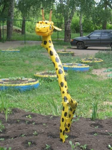Жираф своими руками из дерева